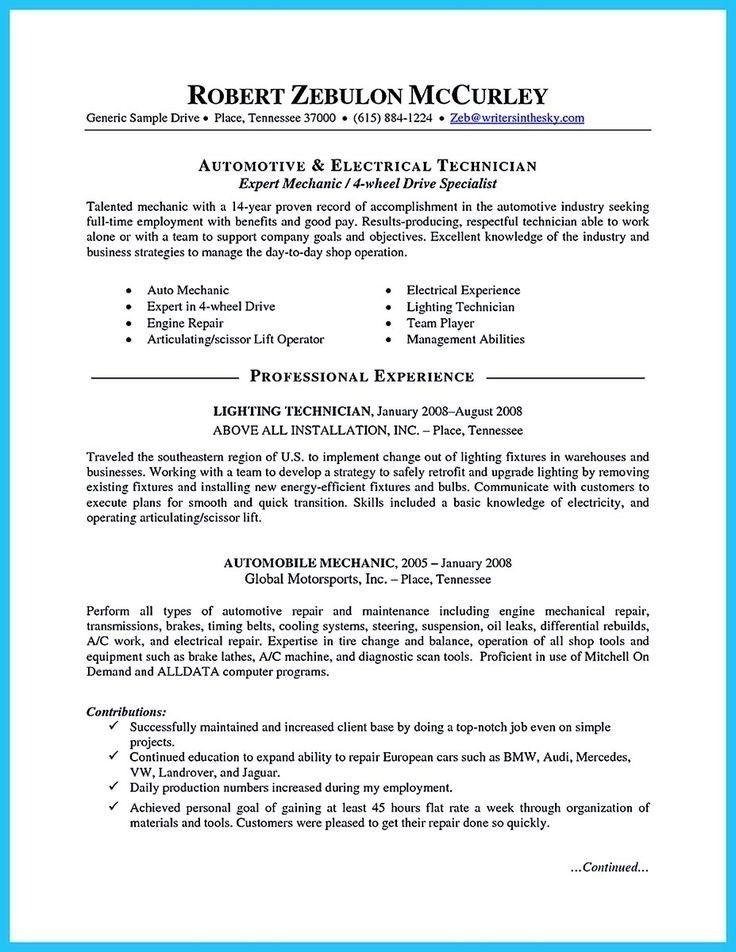 resume for auto mechanic khalid nazir resume laimo resume latest
