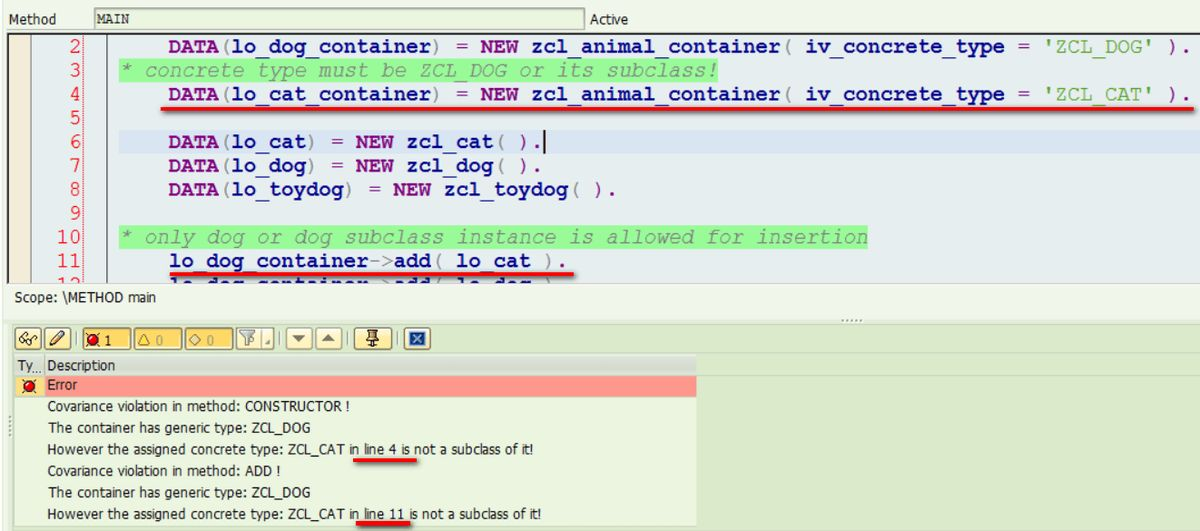 Covariance in Java and simulation in ABAP | SAP Blogs