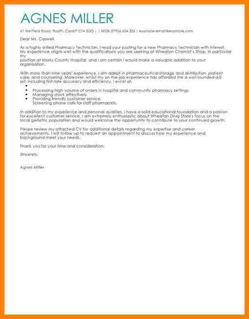 12+ cover letter examples for pharmacy technician | farmer resume