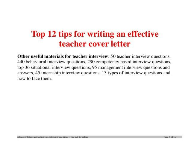 best ideas of tips for writing a cover letter for a job about ...