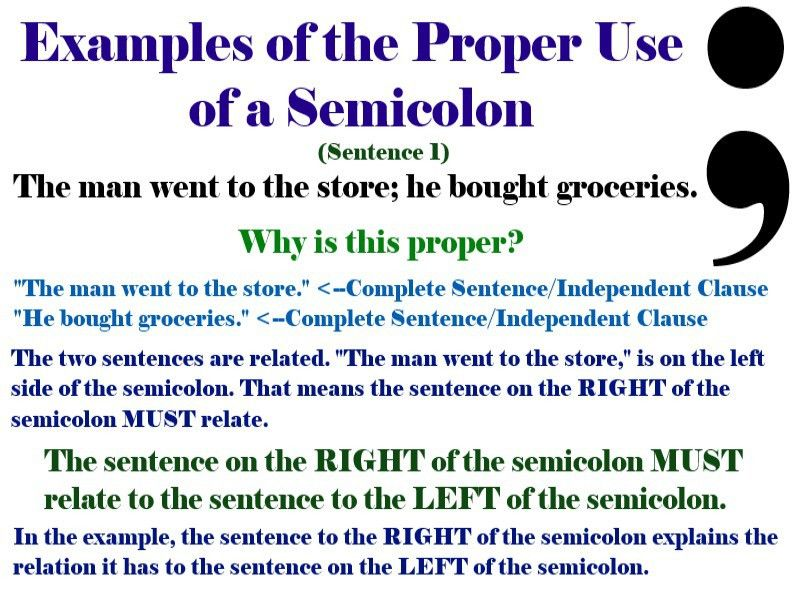 Semicolon: How to Use It!
