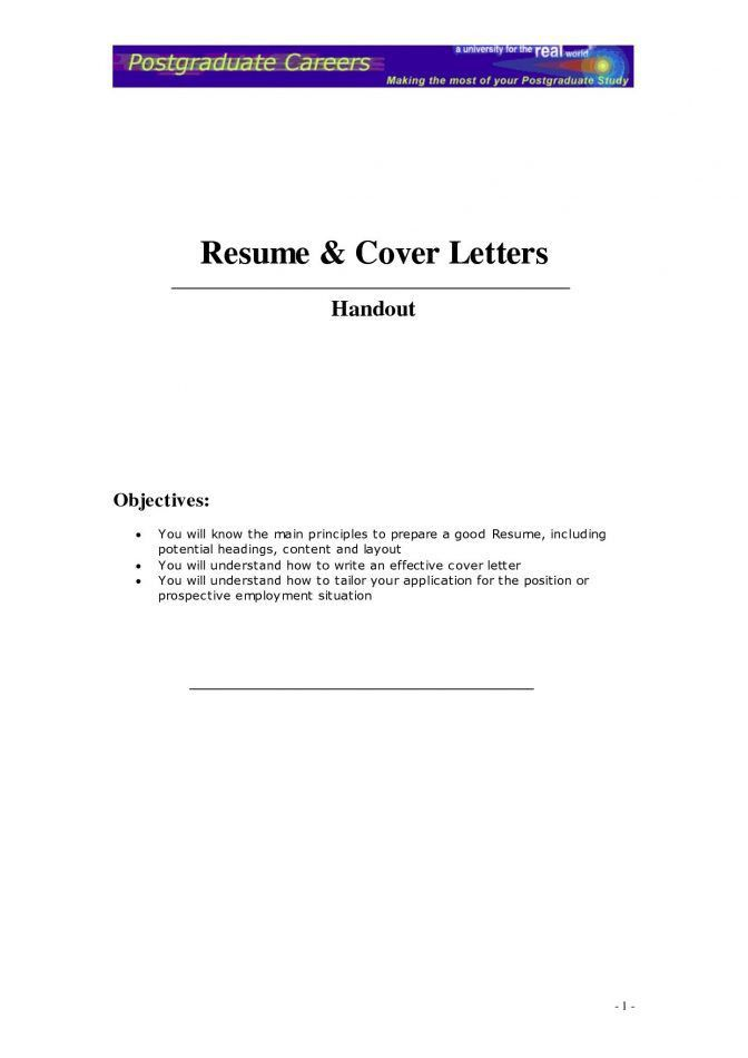 generic resume cover letter resume example. chic how to write a ...