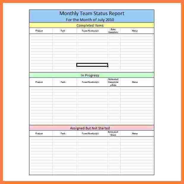 8+ weekly progress report template project management | Progress ...