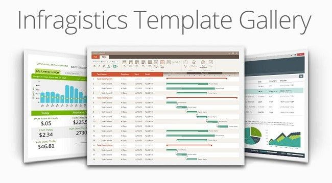 Infragistics Template Gallery - Visual Studio Marketplace
