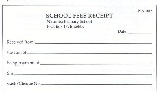 Cheque Payment Receipt Format In Word | Samples.csat.co