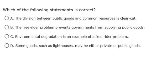 Which Of The Following Statements Is Correct? A. T... | Chegg.com