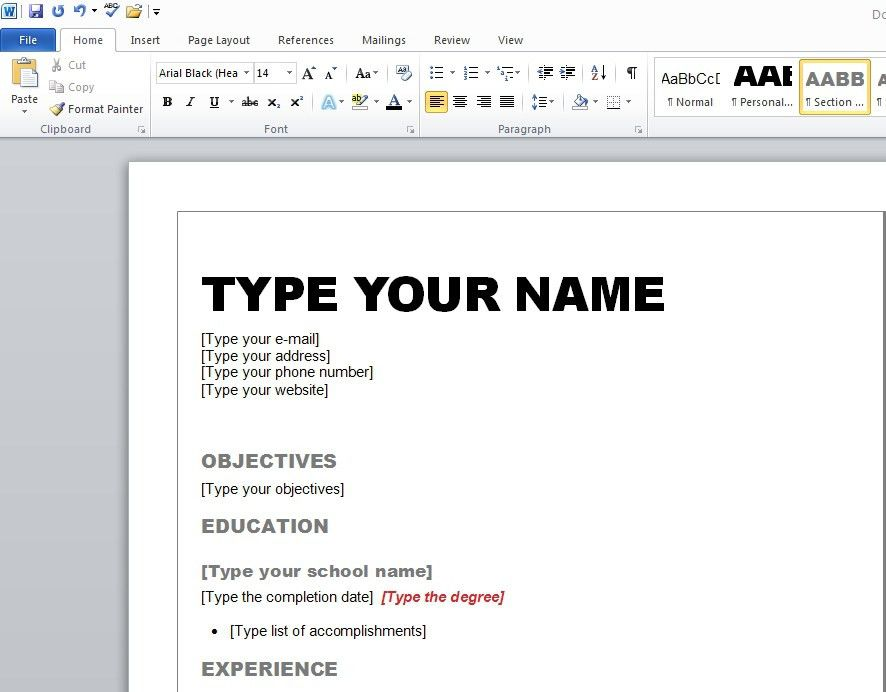 How Do You Make A Resume For Your First Job To In 23 Enchanting ...