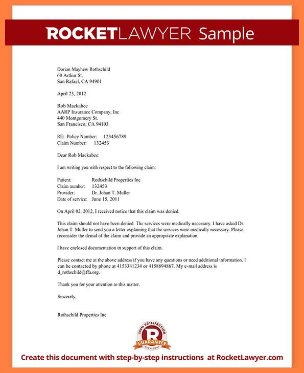 2+ sample medical appeal letters | Appeal Letter 2017