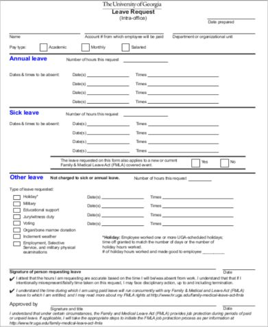 Sample Holiday Request Form - 10+ Examples in Word, PDF