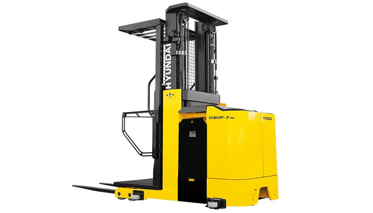 Hyundai Order Picker Electric Forklift   KMH Systems, Inc.