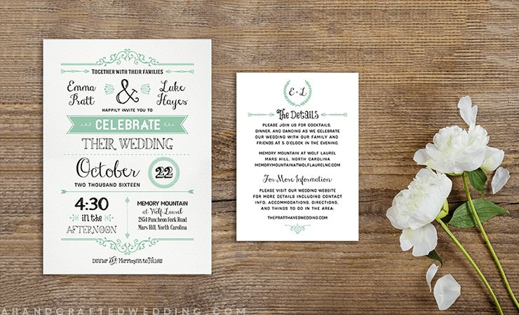 8 Free Wedding Invitation Templates - Excel PDF Formats
