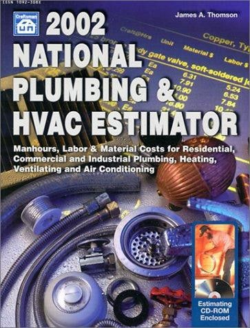 9781572181113: National Plumbing & HVAC Estimator with CDROM (2002 ...