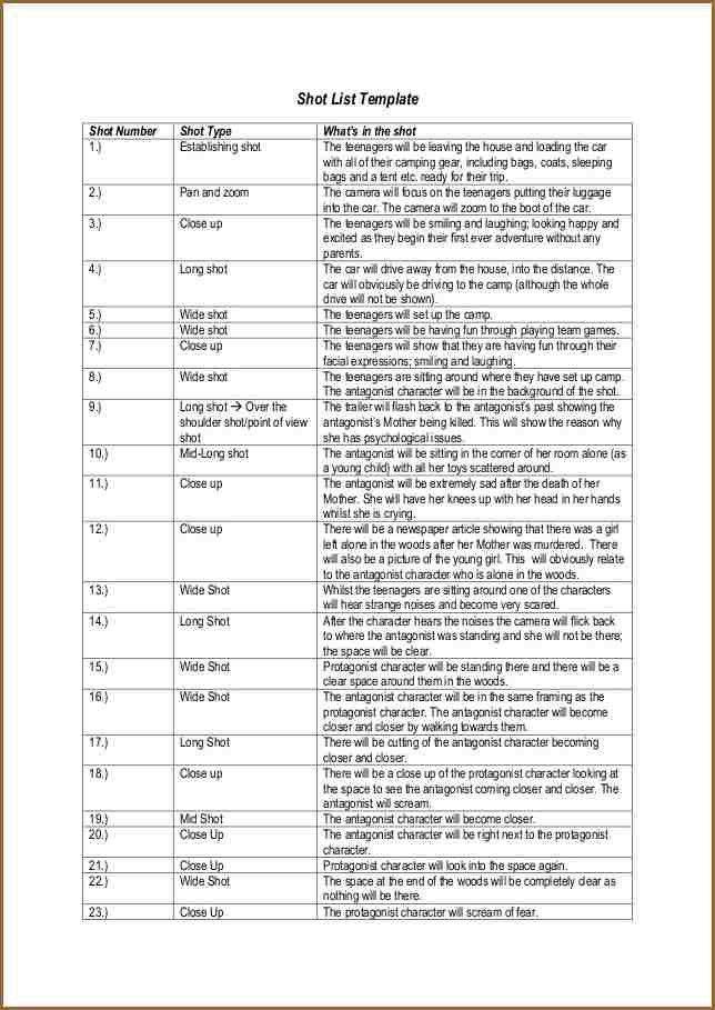 SHOT LIST EXAMPLE.media Shot List Template 1 638.jpg?cb=1383670828 ...