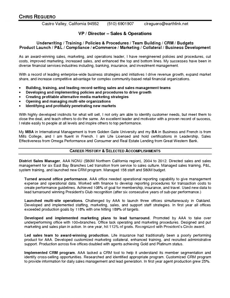 Examples Of Brand Manager Resume Brand Manager Resume Resume ...