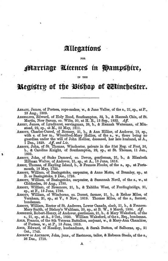 All about genealogy and family history - World Archives Project ...