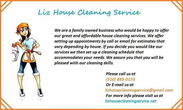 Liz House Cleaning Service - Home Cleaning - Castro Valley, CA ...