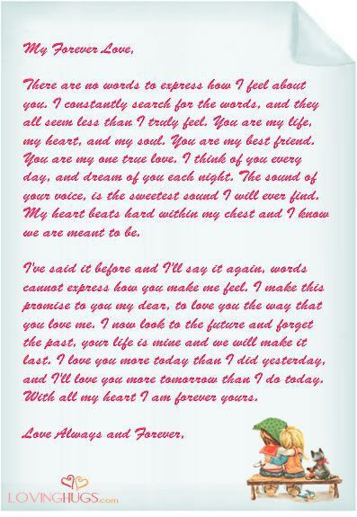 17 best Love Letter Templates images on Pinterest | Letter ...