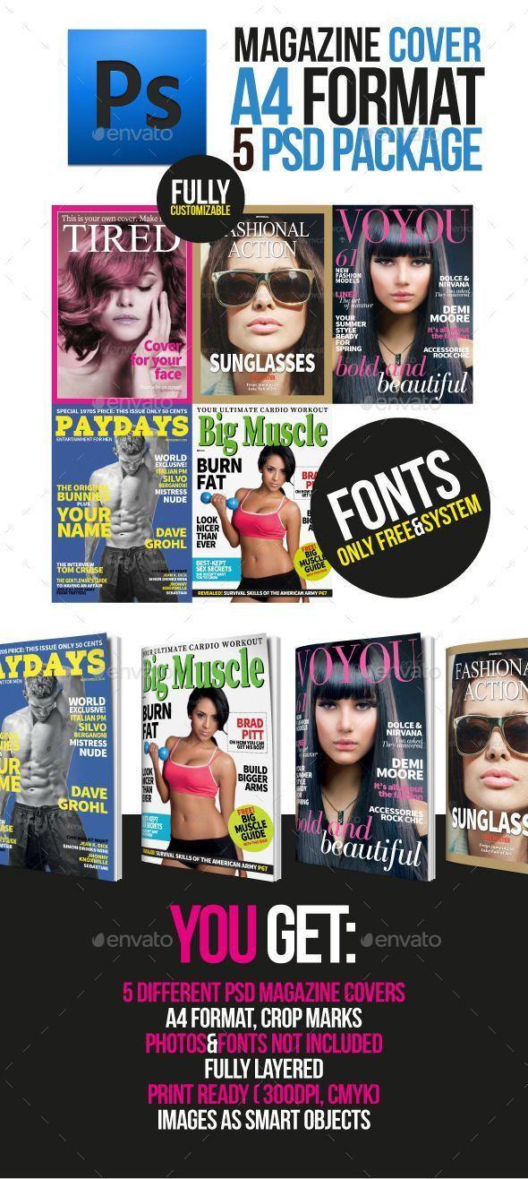 Best 25+ Magazine cover template ideas on Pinterest | Print design ...