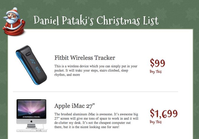 Create A Christmas Wish List With PHP (For Beginners) – Smashing ...