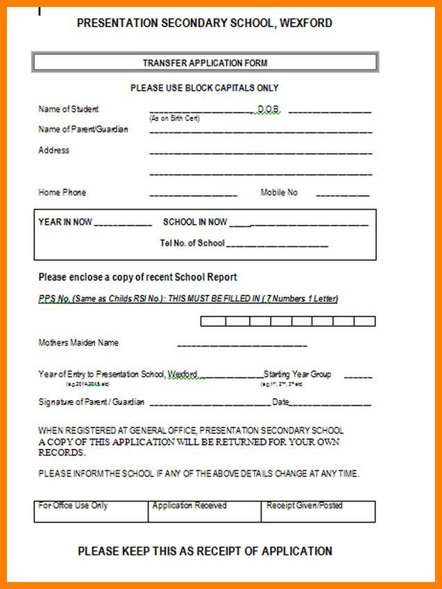 job application template doc