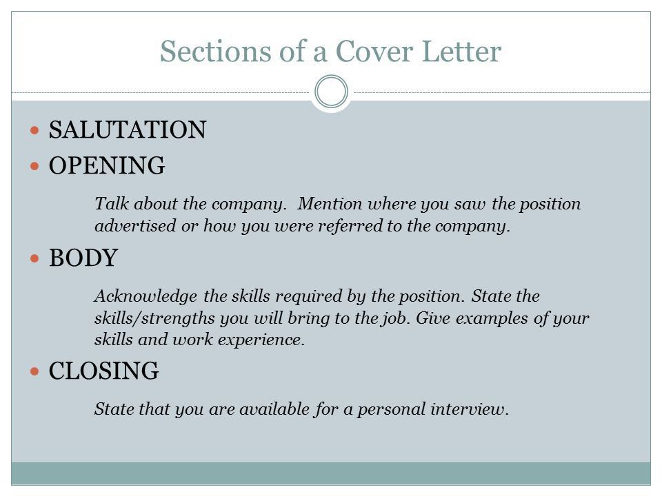 ON-RAMP TO I-BEST: CAREER PORTFOLIO Cover Letters. - ppt download