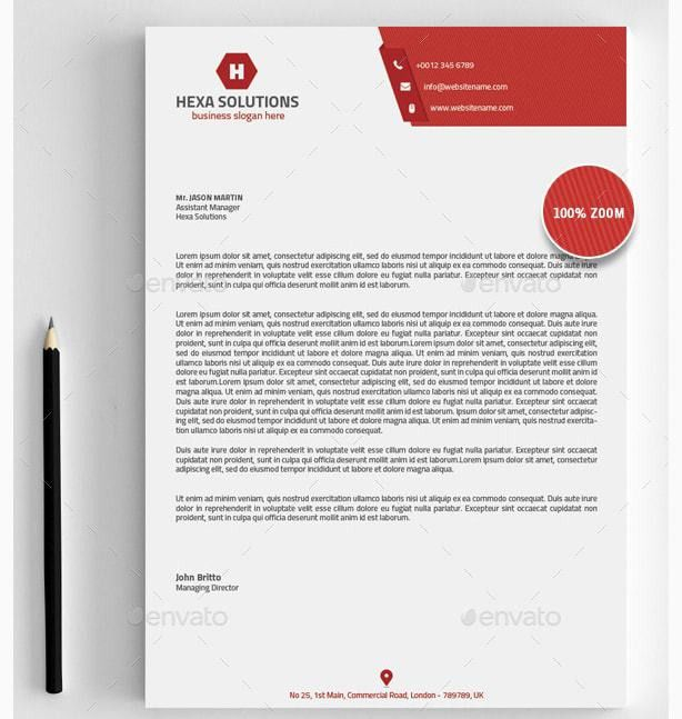 15+ Brand New MS Word Letter Head Templates | 15+ Brand New MS ...