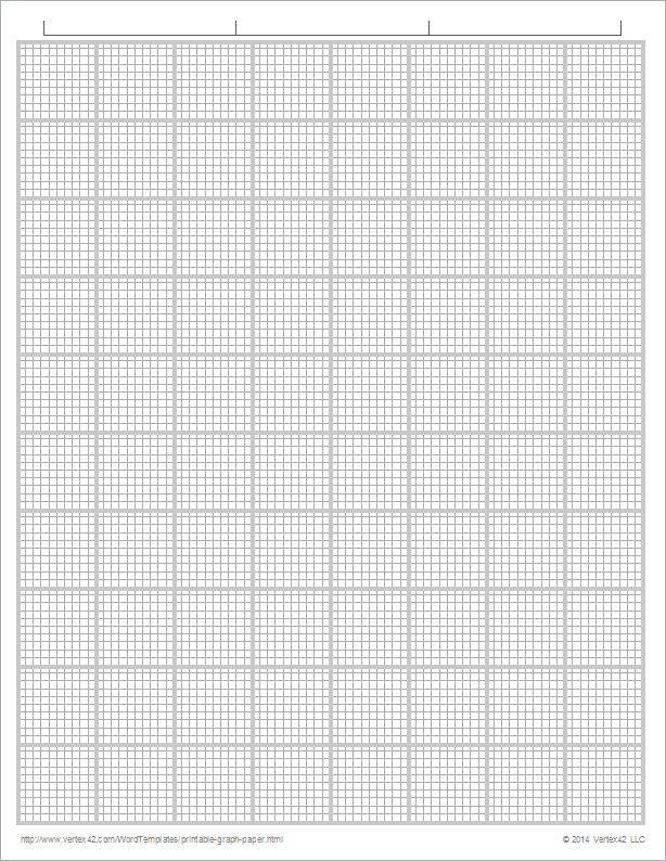 Graph Paper Template | Print Paper Templates