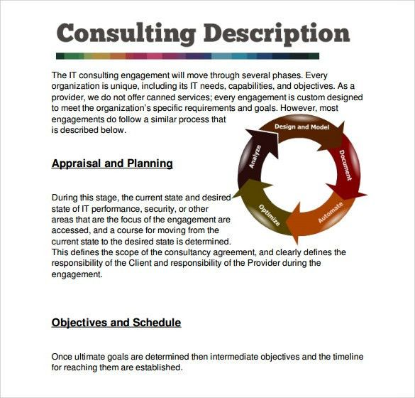 Sample Consultant Proposal Template - 6+ Free Documents Download ...