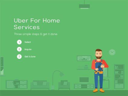 Start your very own Uber for Handyman Services app in 48 Hours ...