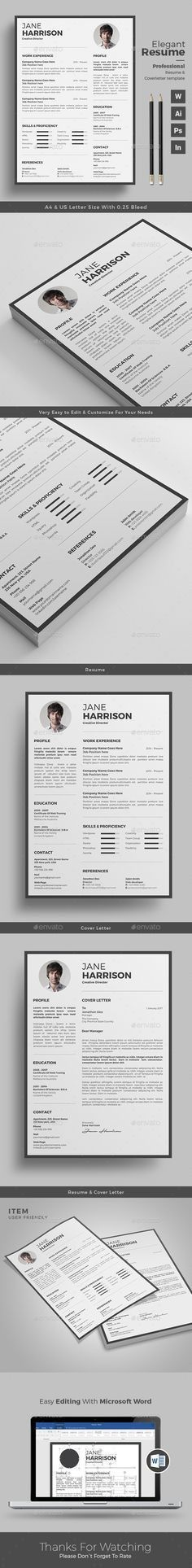 Resume | Stationery templates, Fonts and Cv design