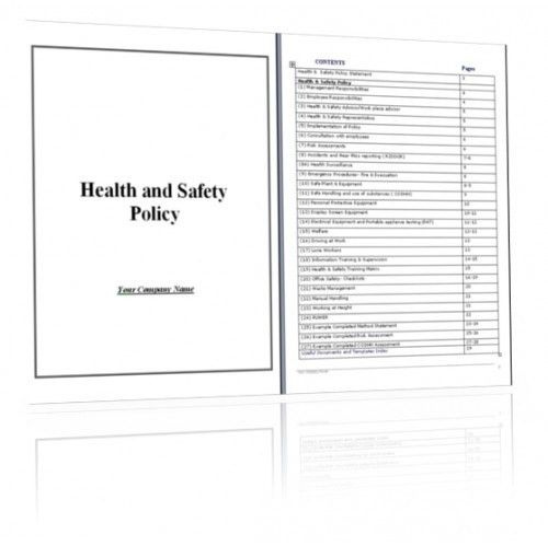 Health And Safety Method Statement Template [Nfgaccountability.com ]