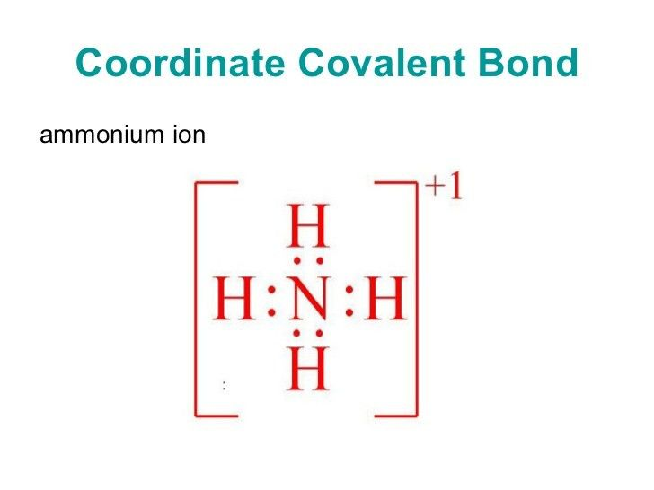Chapter 8 Covalent Bonds