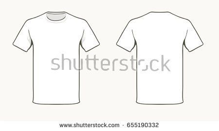 T-shirt Template Stock Images, Royalty-Free Images & Vectors ...