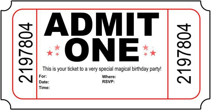 Birthday Party Invite Template - plumegiant.Com