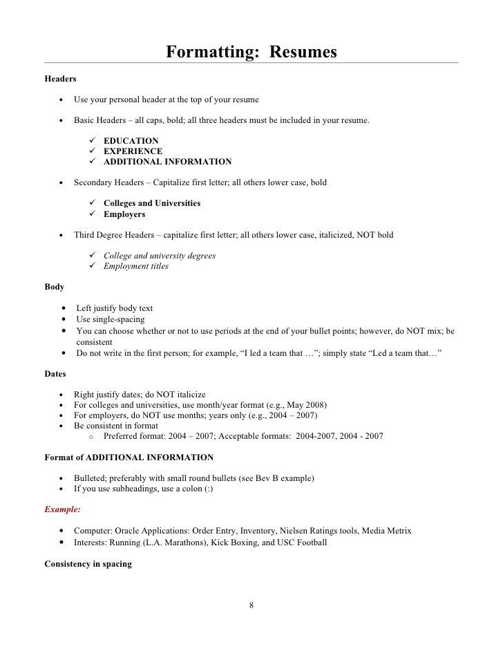 Beverly B. Student Guide to Resumes and Cover Letters