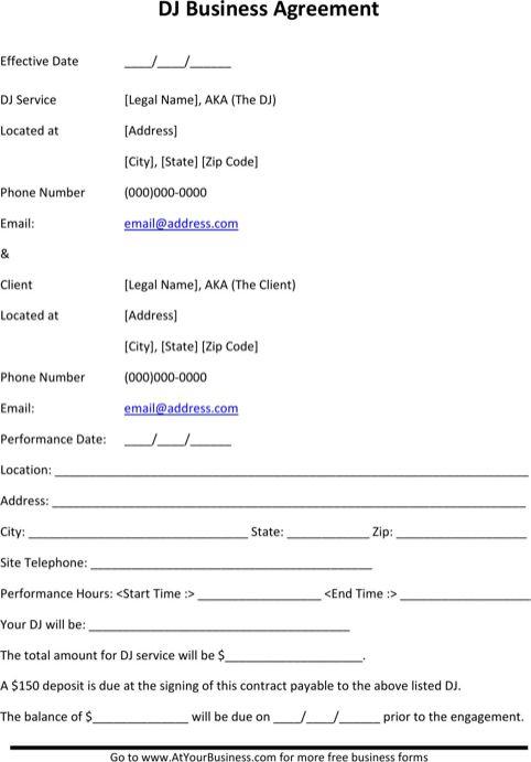 Download Invoice Template Dj   rabitah.net