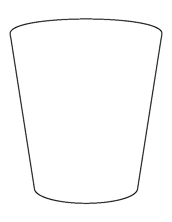 Pocket pattern. Use the printable outline for crafts, creating ...