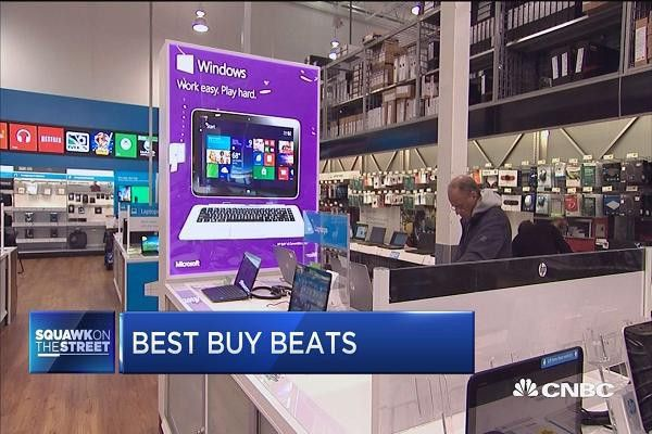 Best Buy says same-store sales results not 'new normal'; stock falls