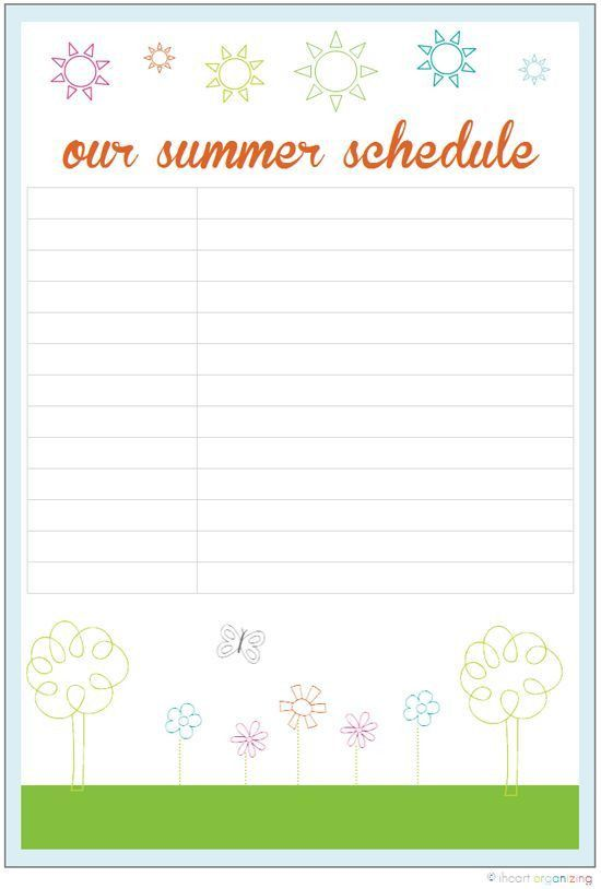 25+ best Daily schedule printable ideas on Pinterest | Daily ...