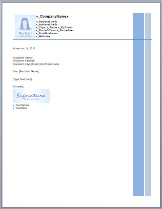 Business Letterhead Templates Free | Free Business Template