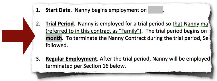 Nanny Contract Template | NON COMPETE AGREEMENT