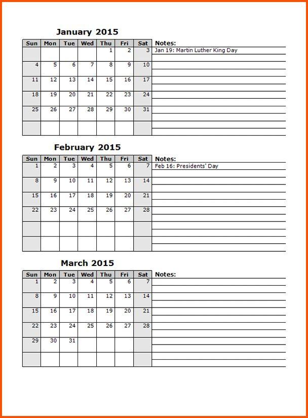 14+ calendar templates for word | Survey Template Words