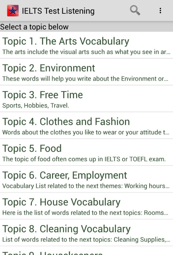 IELTS Test Listening Offline - Android Apps on Google Play
