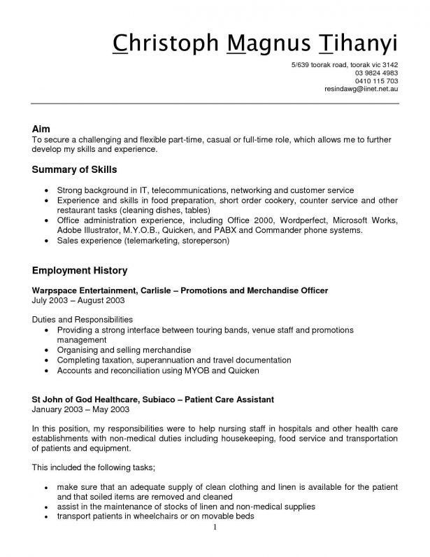 Resume : Beijing International Bilingual Academy Retail Cashier ...