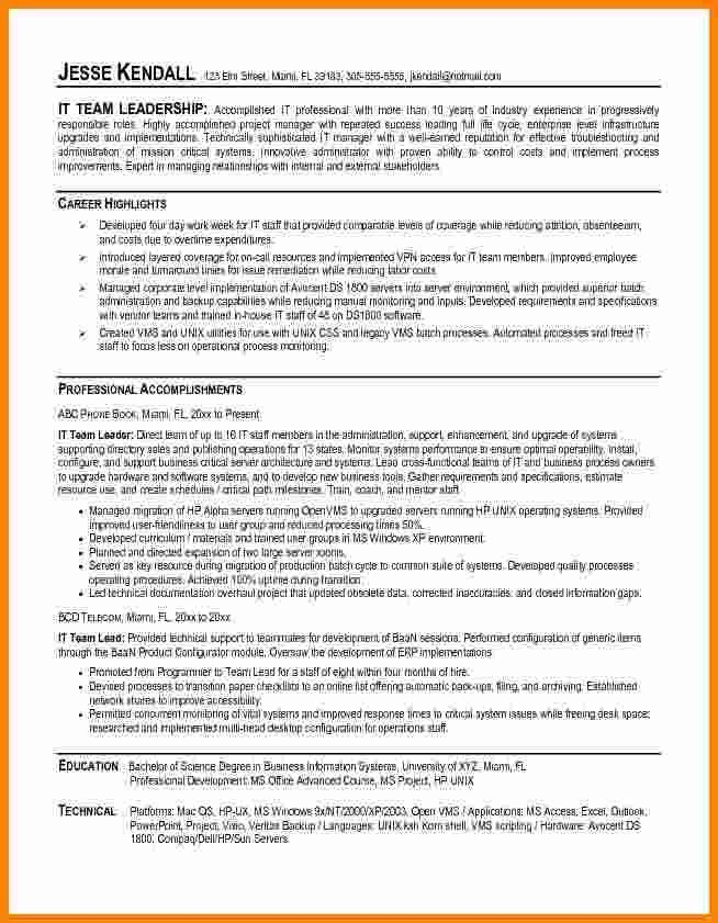 6+ leadership resume examples | ledger paper
