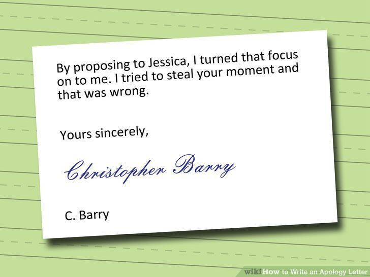 How to write an effective apology letter