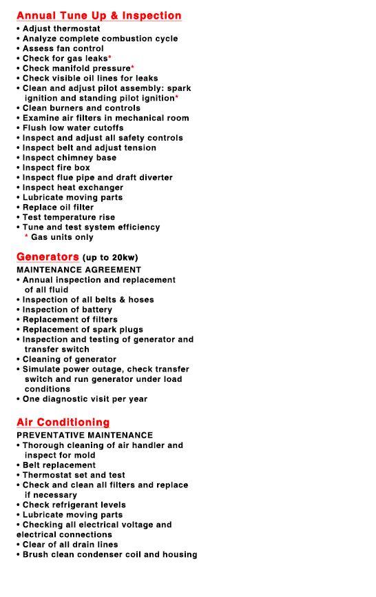 Service Plans | Robison Oil