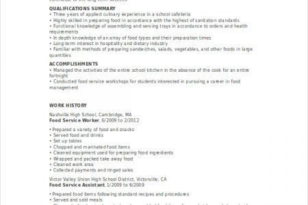 resume server resume template server responsibilities resume ...