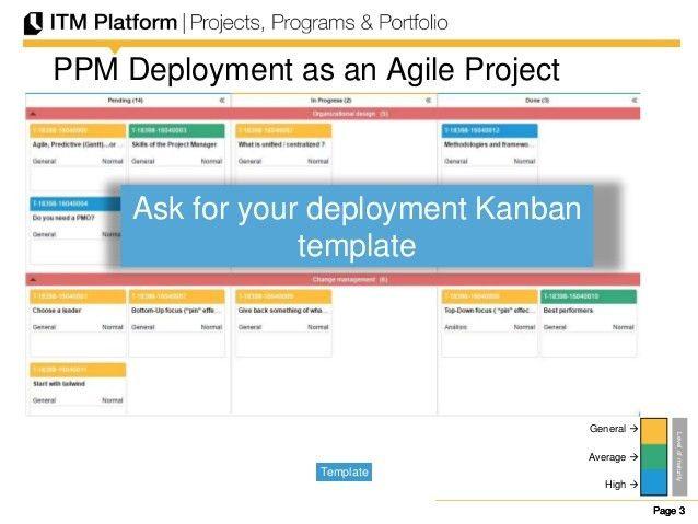 Webinar ITM Platform: Agile Deployment of Project Portfolio Managemen…