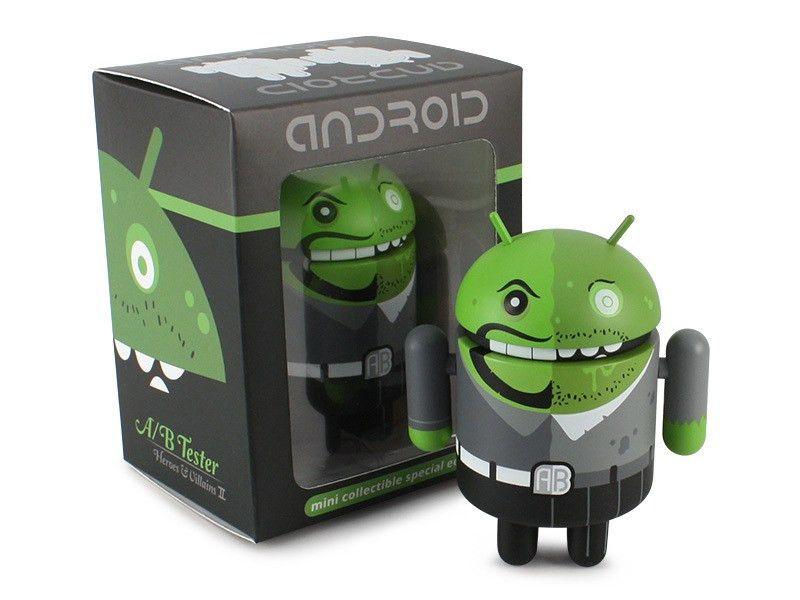 Android Heroes & Villains II Set - Dead Zebra, Inc Shop